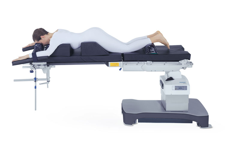surgical workflows patient positioning prone position